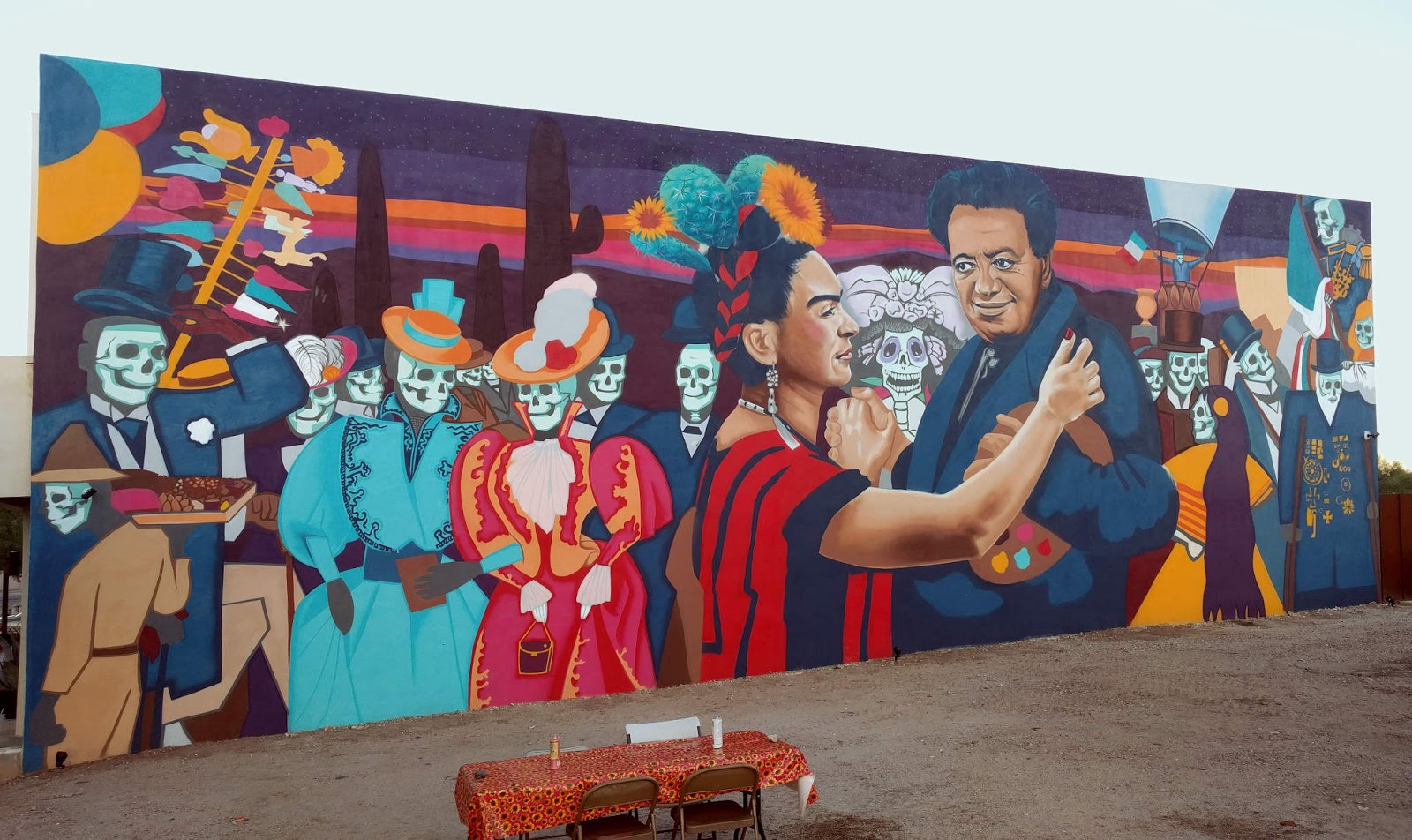 The Tucson Murals Project Murals Being Made Part 41