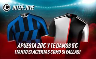 sportium Promo Inter vs Juventus 6-10-2019
