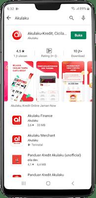 download dan install aplikasi akulaku