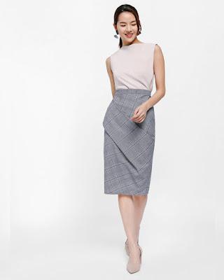 Trend Pencil Skirt untuk jalan sanati