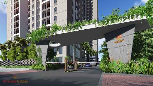 Dự án Riverside Garden hút khách vì lý do gì?