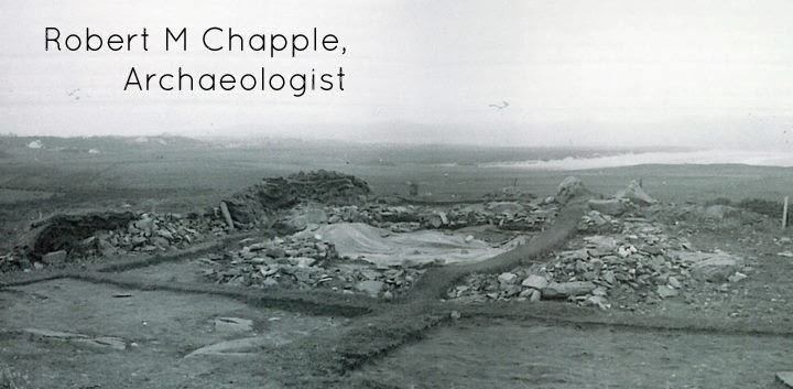 Robert M Chapple, Archaeologist