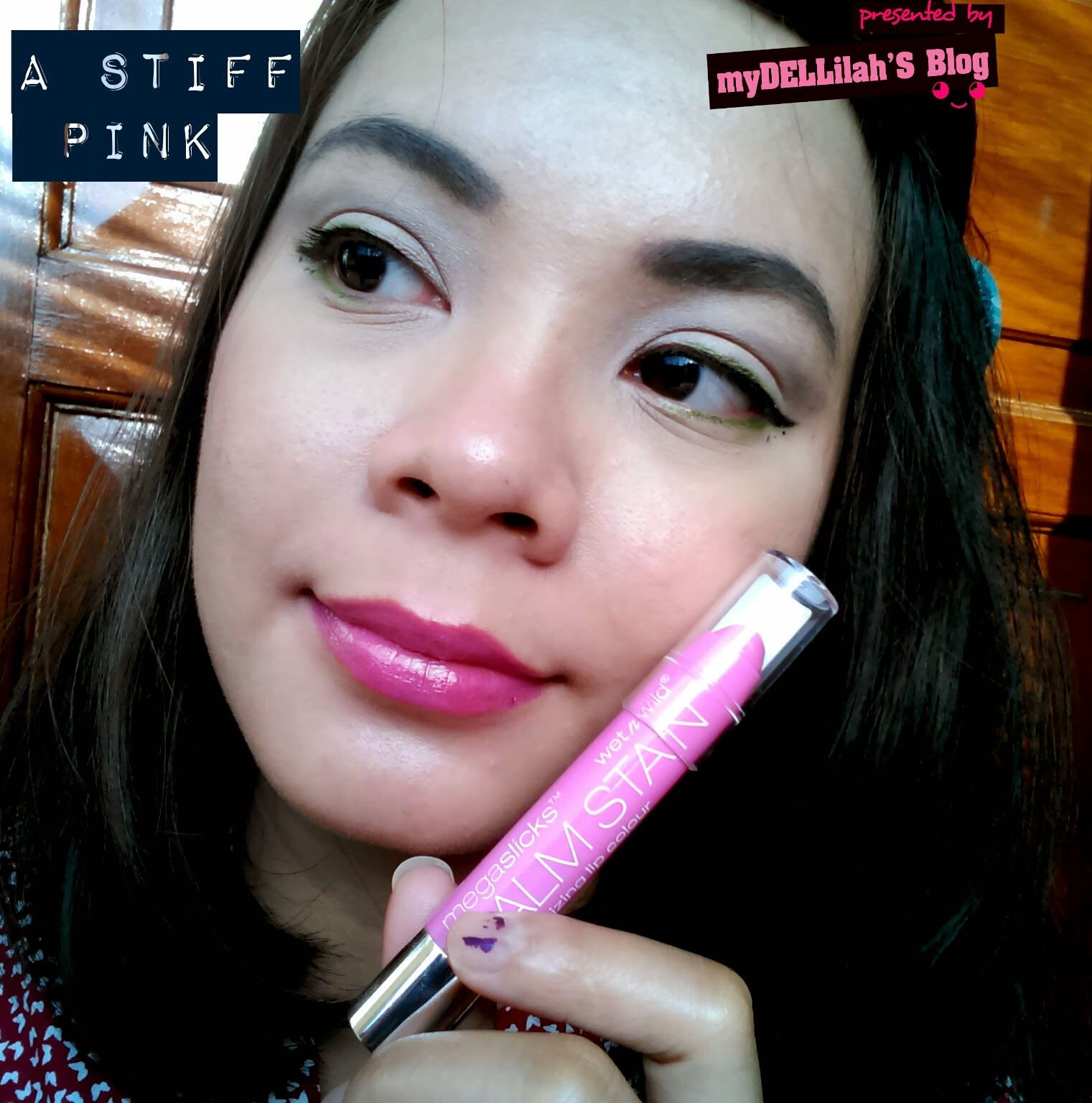 swatch of stiif pink