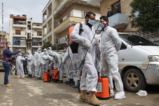 منظمة الصحة العالمية: نتوقع انفجارًا في أعداد حالات الإصابة بفيروس كورونا في سوريا واليمن