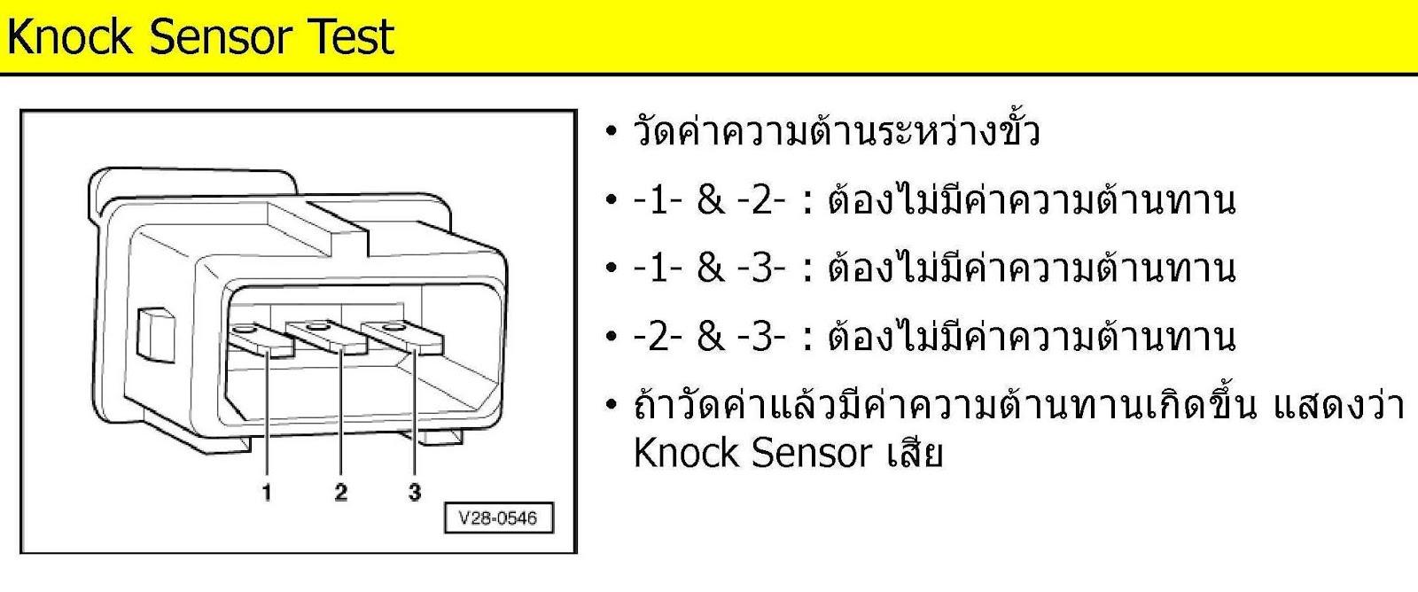 405SRI by ThawaT: Knock Sensor ( เซ็นเซอร์ตรวจจับการเขก )