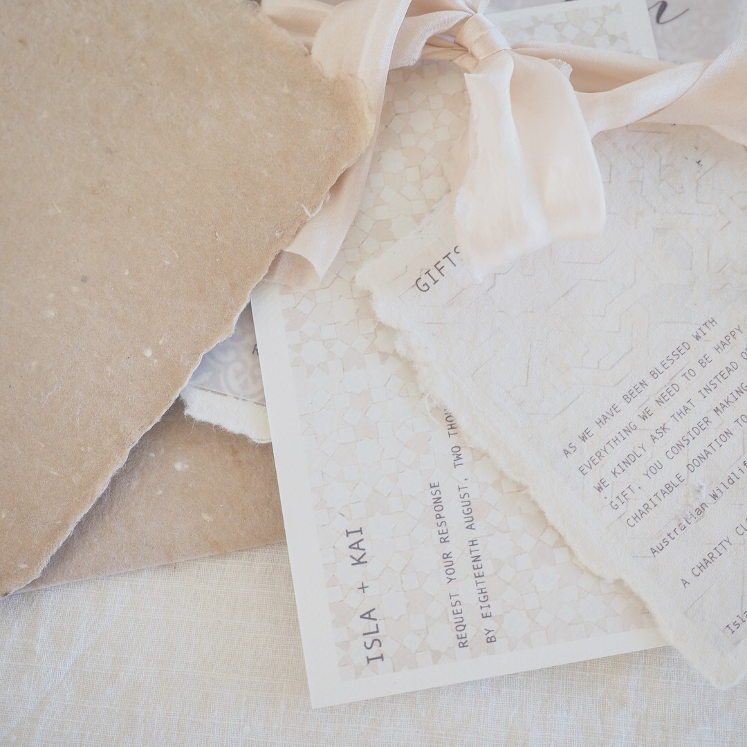sydney wedding stationery designer custom fine art weddings invitations