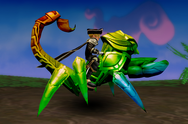 Wizard101 Dyeable Mounts