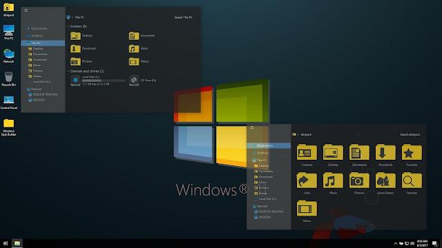 Tema Windows 10 Keren dan Kekinian