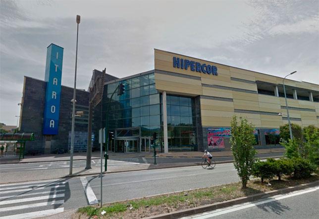 Centro comercial donde tuvieron lugar los hechos