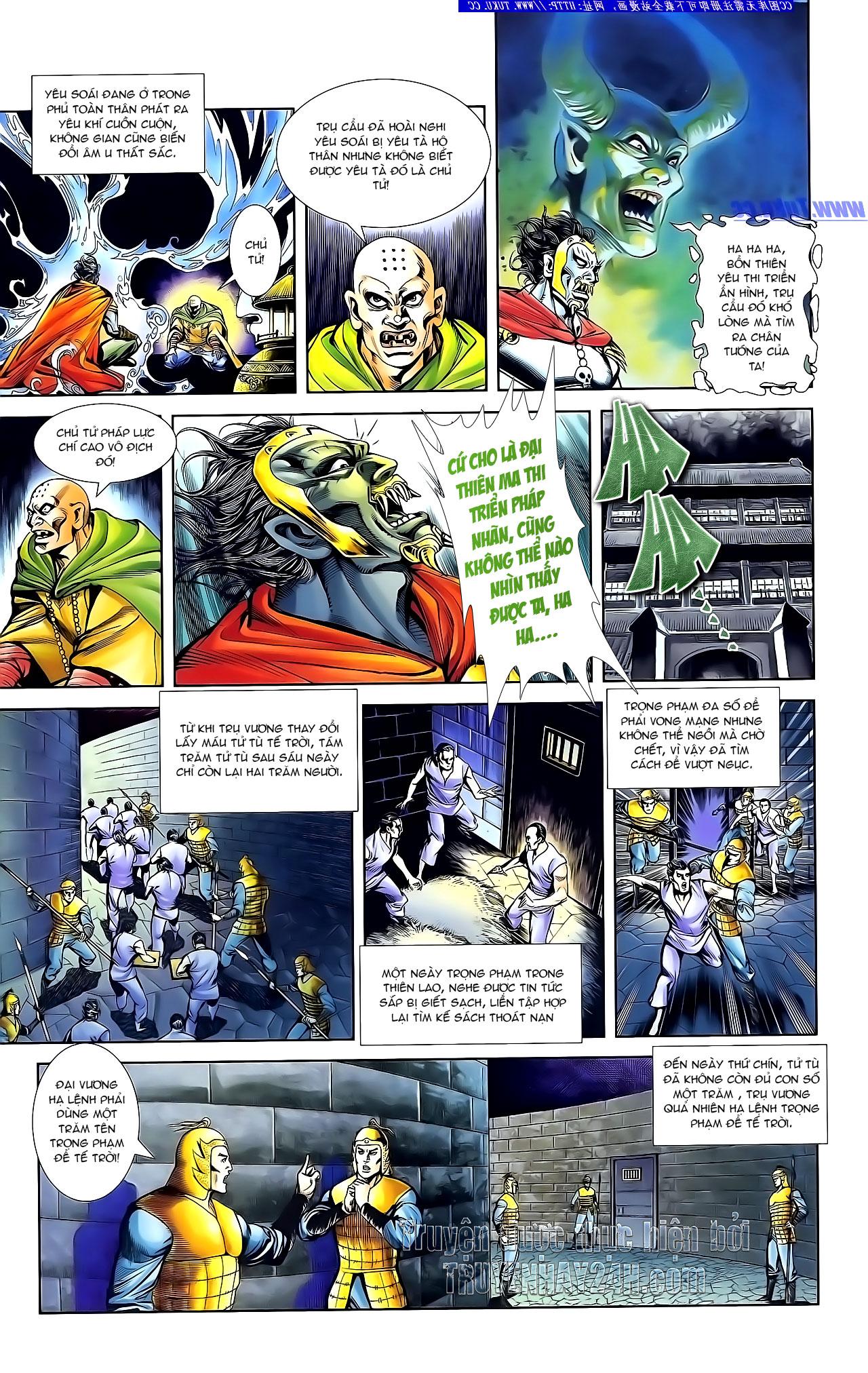 Cơ Phát Khai Chu Bản chapter 134 trang 24
