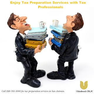 tax preparation services in San Antonio