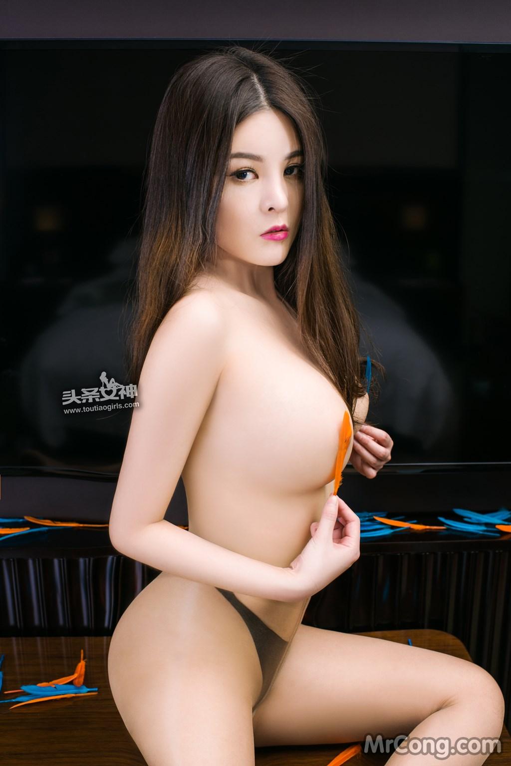 Image MrCong.com-TouTiao-2017-02-11-Tong-An-Qi-017 in post TouTiao 2017-02-11: Người mẫu Tong An Qi (童安琪) (27 ảnh)