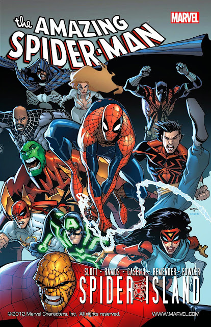 spider island comics