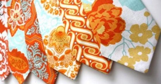 Wedding Colors I Love | Shades of Orange + Aqua!