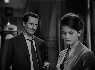 Pietro Germi, pictured with Claudia Cardinale, had been a successful actor before turning to directing