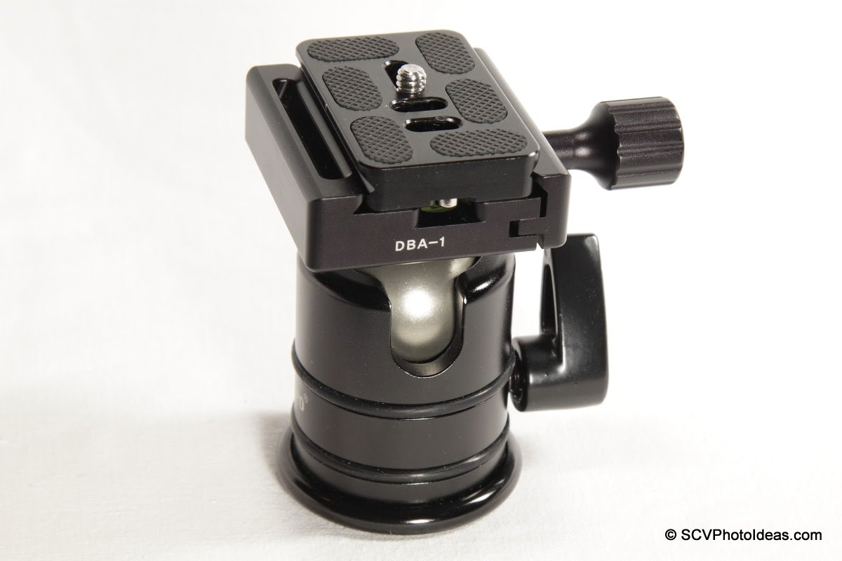Desmond DBA-1 + Triopo RS-3 ball head w/ centered Arca plate