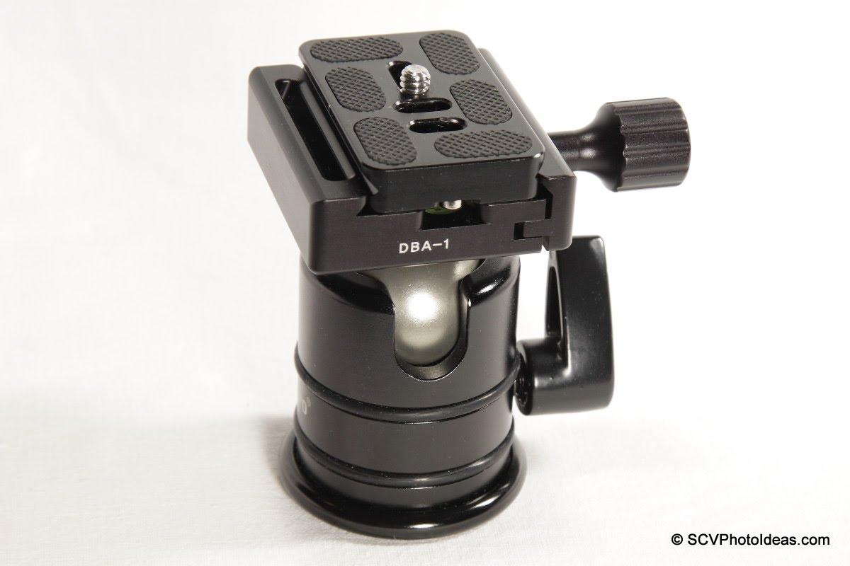 Desmond DBA-1 + Triopo RS-3 ball head w/ centered Arca plate
