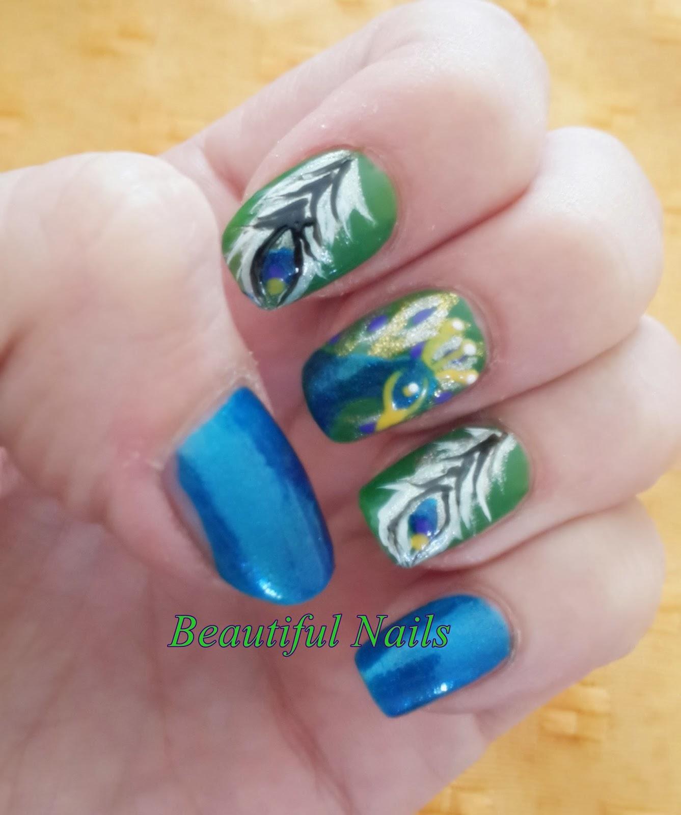 Beautiful Nails Reto Locaporelnailartbyyan Tema Animales En