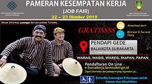 Job Fair Surakarta Oktober 2019