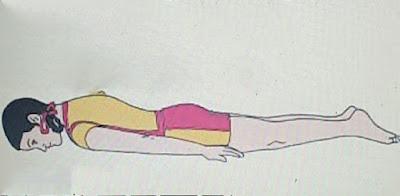 Ardha Shalabhasana