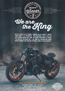 battle of the kings 2017 harley davidson perugia adversiting