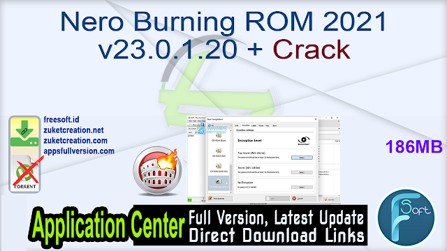 Nero Burning ROM 2021 v23.0.1.20 + Crack