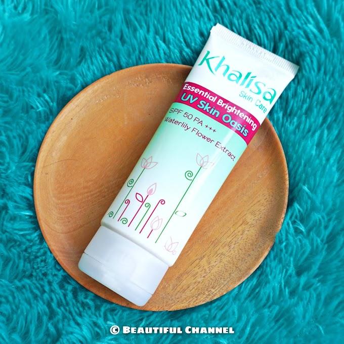 Review: Khalisa Essential Brightening UV Skin Oasis SPF 50 PA+++