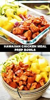 #The #World's #most #delicious #Hawaiian #Chicken #Meal #Prep #Bowls