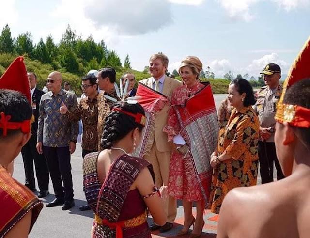 Inilah Detik-detik Raja dan Ratu Belanda di Danau Toba