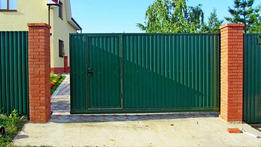 Механизм для откатных ворот
