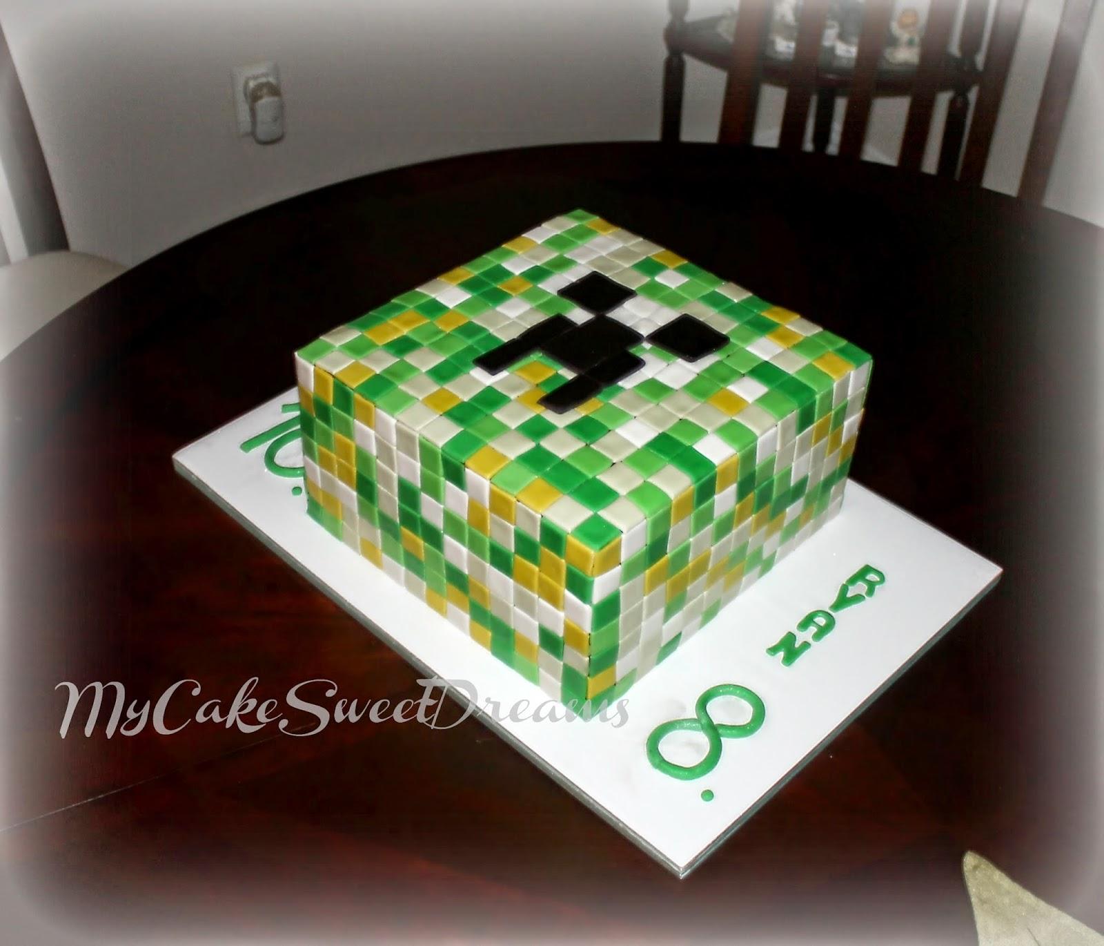Where Can U Buy A Minecraft Cake