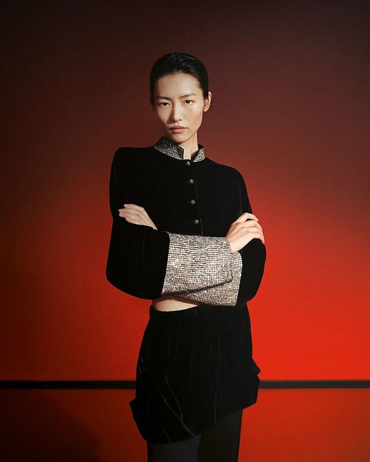 Liu Wen is the Face of Giorgio Armani Fall Winter 2021 Collection