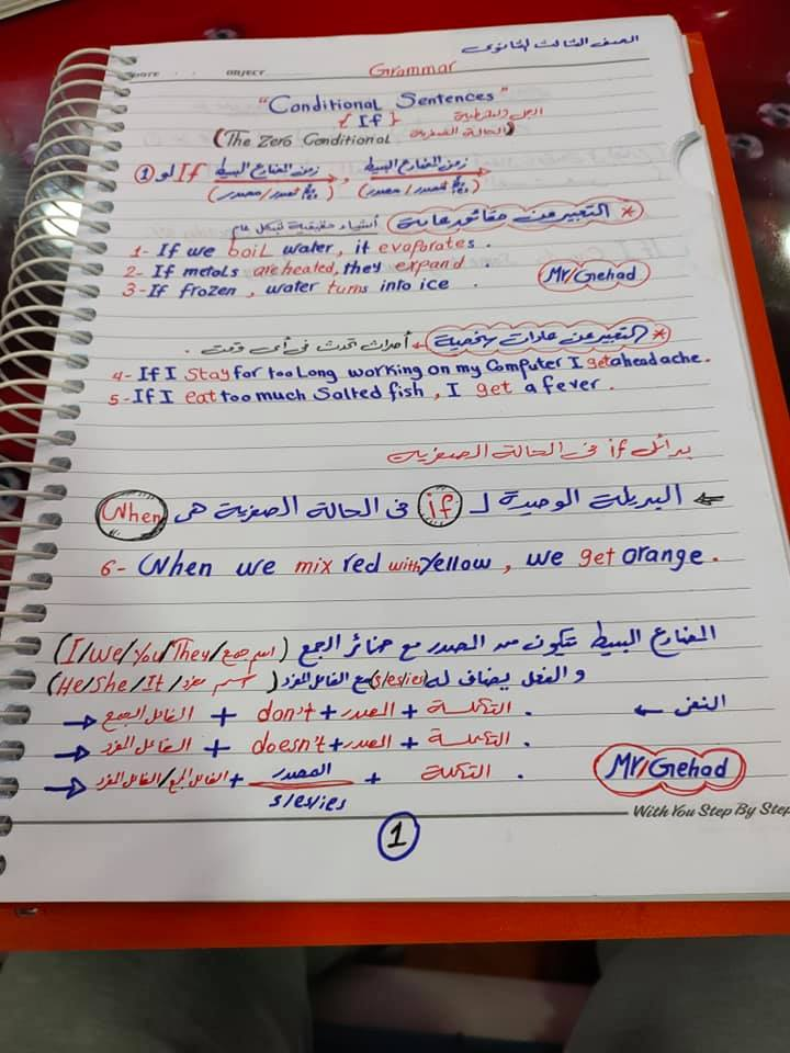 مراجعة اسلوب الشرط.. قاعدة if للصف الثالث الثانوي 1