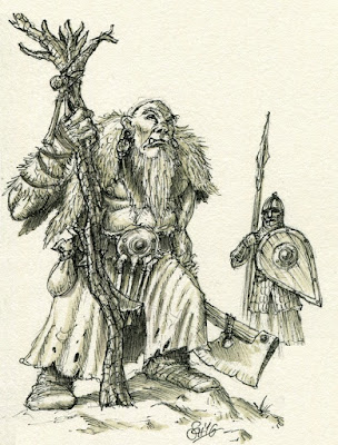 One of the Shaman characters