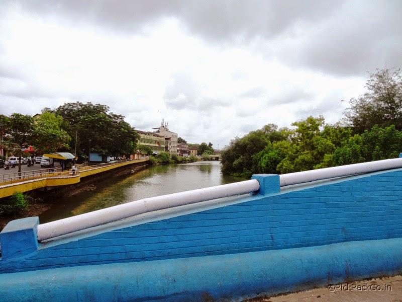Ourem creek near Fontainhas - the picturesque Latin quarter in Goa