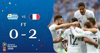 Uruguay vs Prancis 0-2 Video Gol Highlights - Perempatfinal Piala Dunia 2018