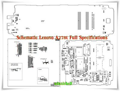 Schematic Lenovo A278t Full Specifications