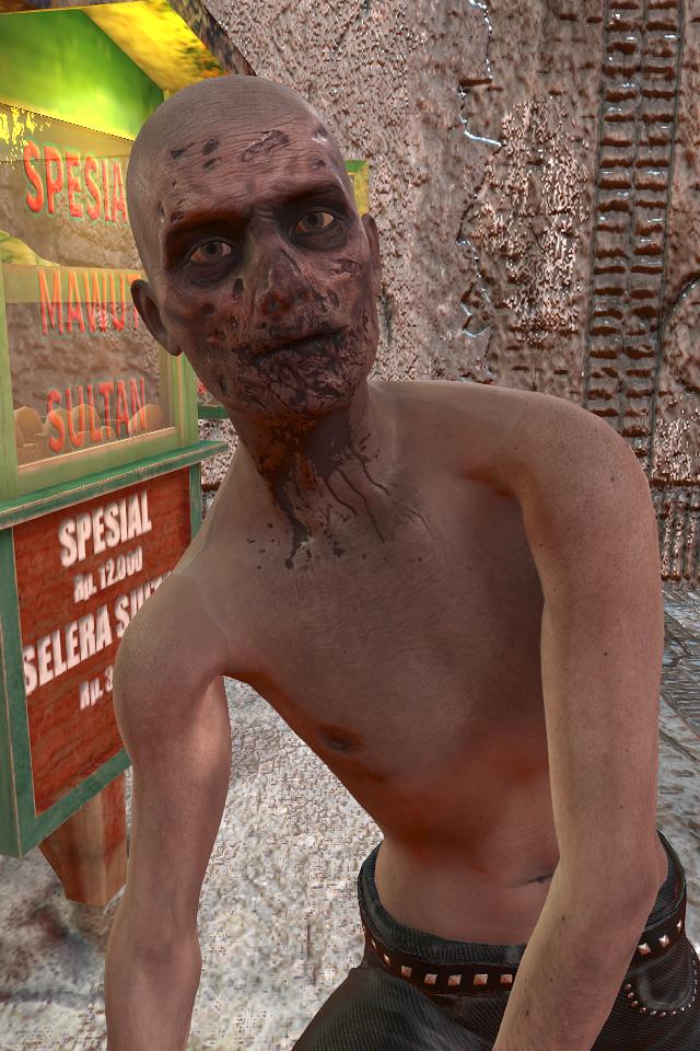 Zombie Rush Character
