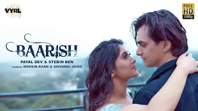BAARISH LYRICS – PAYAL DEV
