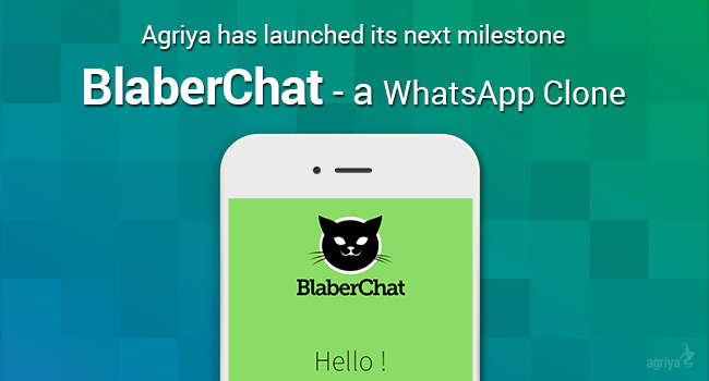 Agrira has launched its next milestone - 'BlaberChat', a