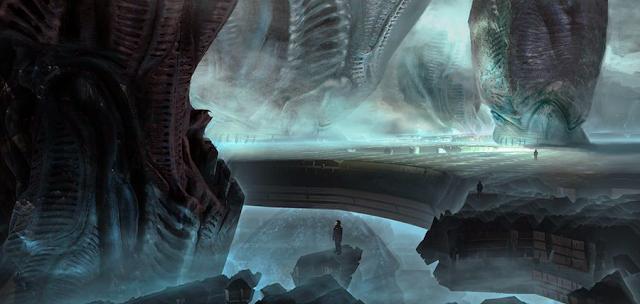 Concept art pentru Prometheus 2