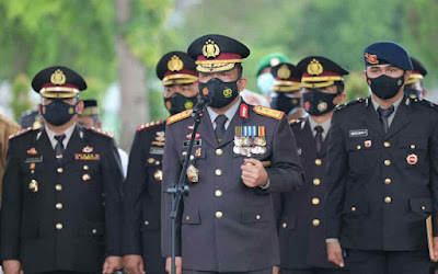 Kapolda Sumut Pimpin Upacara Pemakaman Almarhum Kombes Pol Zulfikar