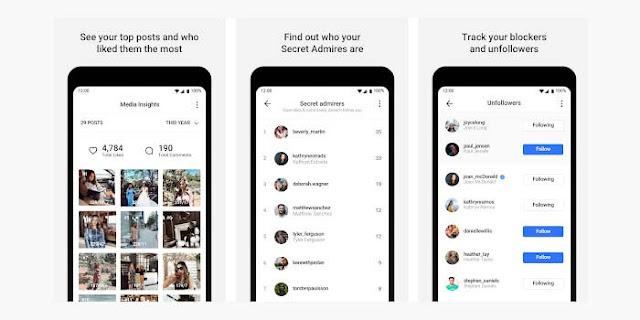 Aplikasi Mengecek Unfollow Dengan FollowMeter