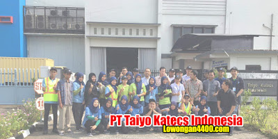 Lowongan Kerja PT Taiyo Katecs Indonesia Cikarang 2020