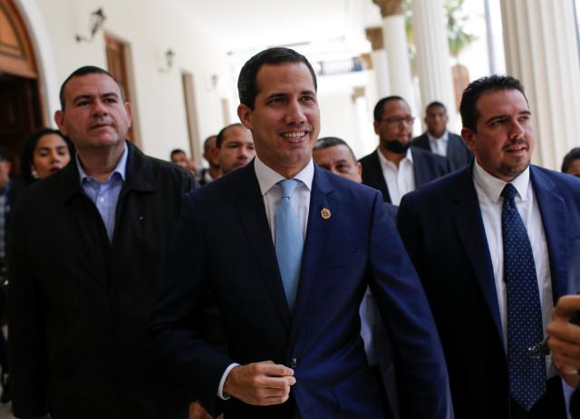 VENEZUELA: Presidente Juan Guaidó manifestó que las sanciones no va en contra de Venezuela sino contra régimen.