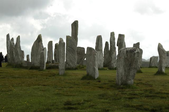 Callanish stones Hebrydy zewnetrzne szkocja