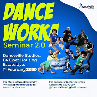 EVENT: #DanceWorkaSeminar returns on Saturday, February 1st