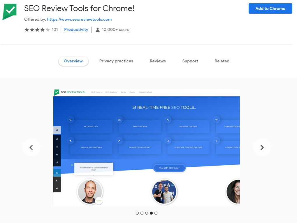SEO Review Tools for Chrome!