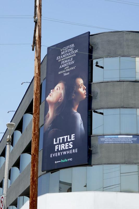 Little Fires Everywhere Emmy FYC billboard