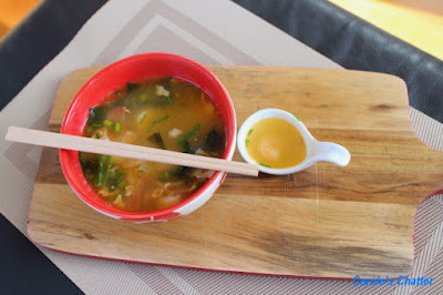 Carole's Chatter: Spicy Japanese Prawn & Bacon Soup – worth revisiting